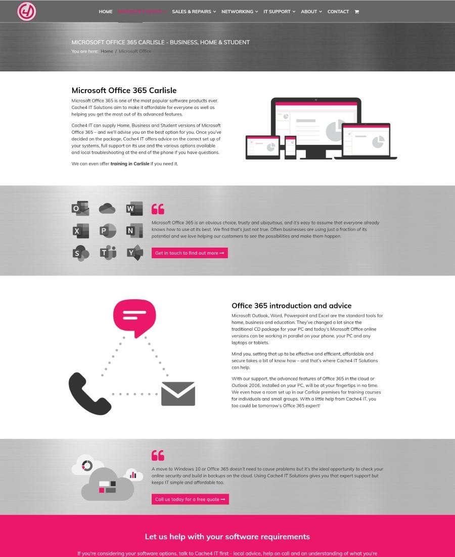 Website Design Carlisle, Cumbria